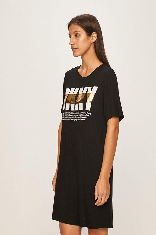 čierna Dkny - Nočná košeľa Dámsky