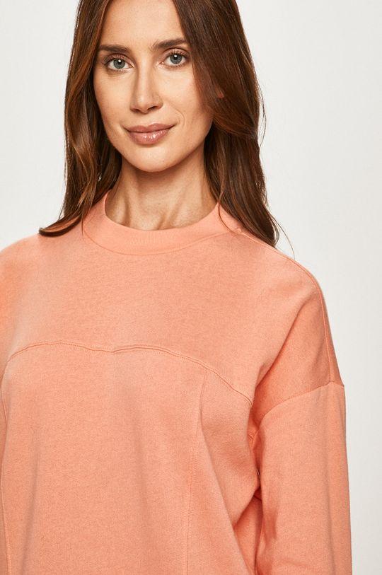 broskvová Calvin Klein Underwear - Pyžamová mikina Dámský