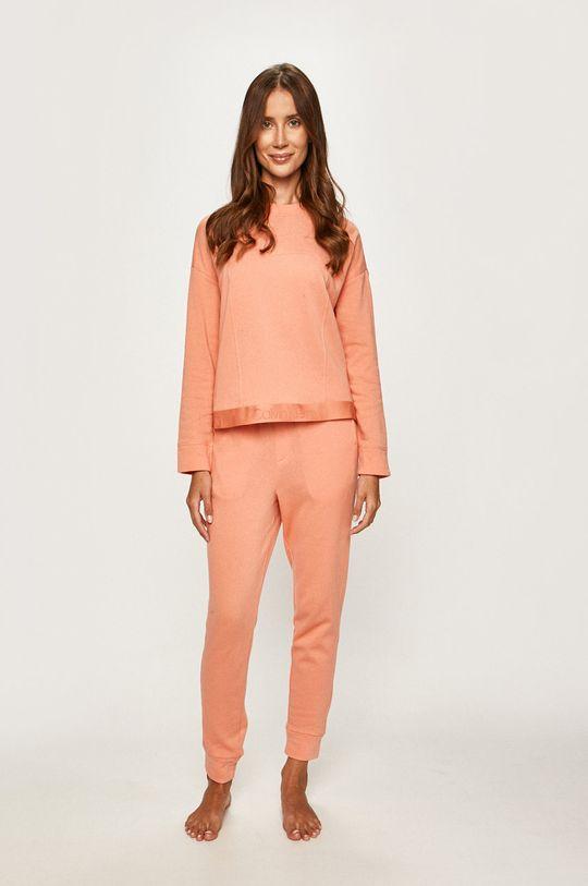 Calvin Klein Underwear - Pyžamová mikina broskvová