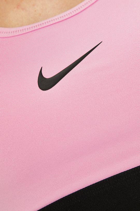 růžová Nike - Sportovní podprsenka