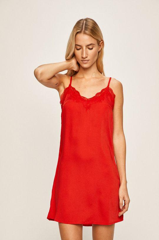 ostrá červená Pieces - Noční košile Dámský