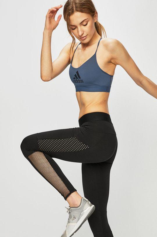 acélkék adidas Performance - Melltartó Női