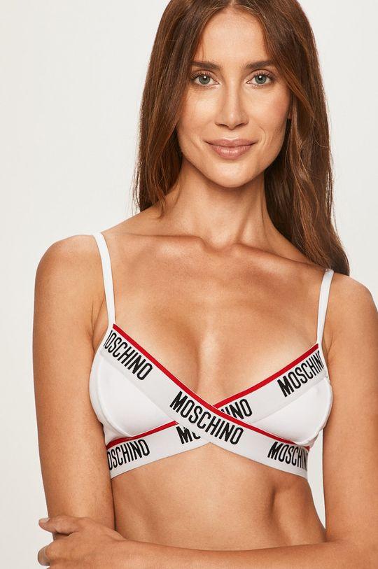 biały Moschino Underwear - Biustonosz Damski