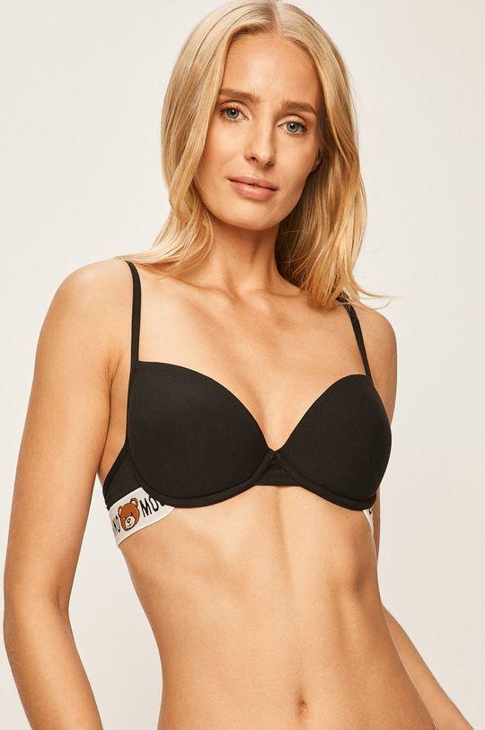 Moschino Underwear - Sutien 92% Bumbac, 8% Elastan