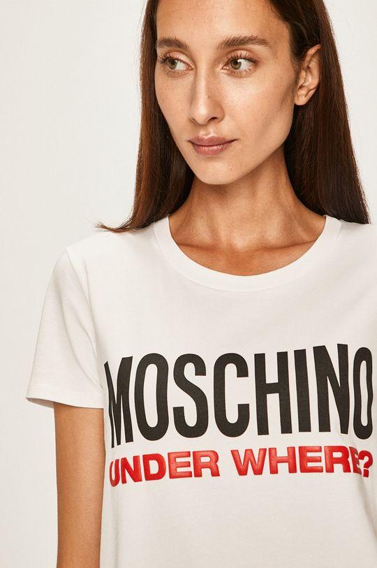 alb Moschino Underwear - Tricou de pijama De femei