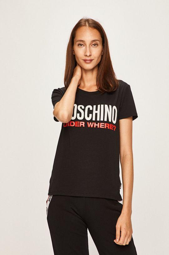 negru Moschino Underwear - Tricou de pijama De femei