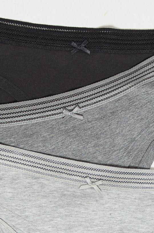 vícebarevná Etam - Kalhotky Jack Lace (3 pack)