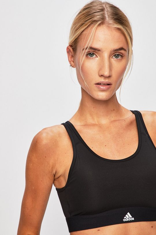 fekete adidas Performance - Sportmelltartó