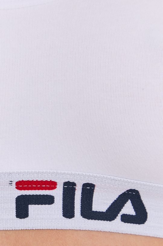Fila - Športová podprsenka  Základná látka: 95% Bavlna, 5% Elastan Úprava : 67% Bavlna, 5% Elastan, 28% Polyester