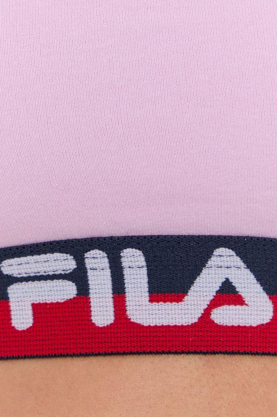 růžová Fila - Sportovní podprsenka