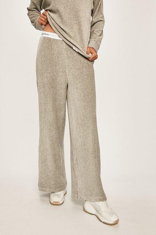 světle šedá Calvin Klein Underwear - Pyžamové kalhoty Dámský