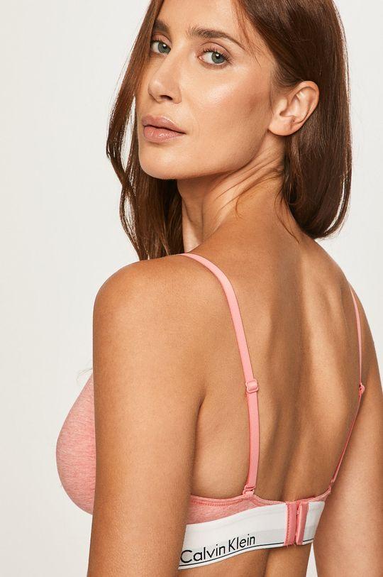 Calvin Klein Underwear - Podprsenka koralová