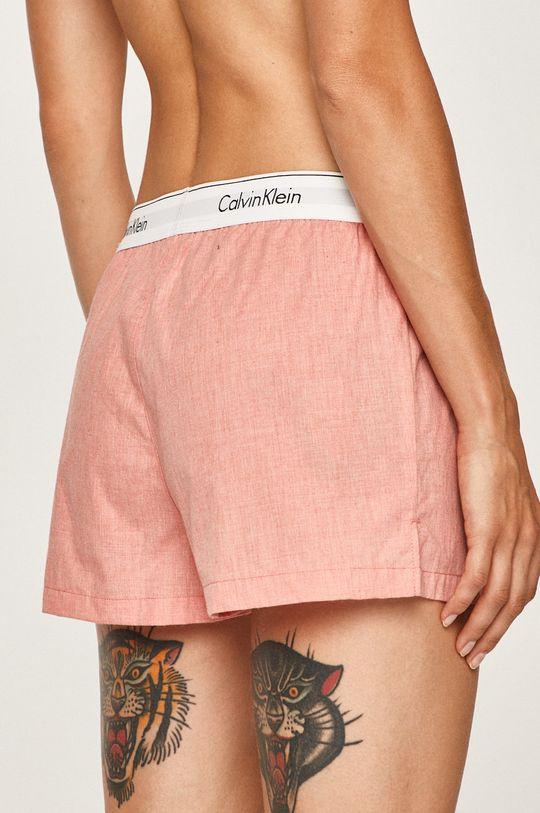 Calvin Klein Underwear - Pyžamové šortky koralová