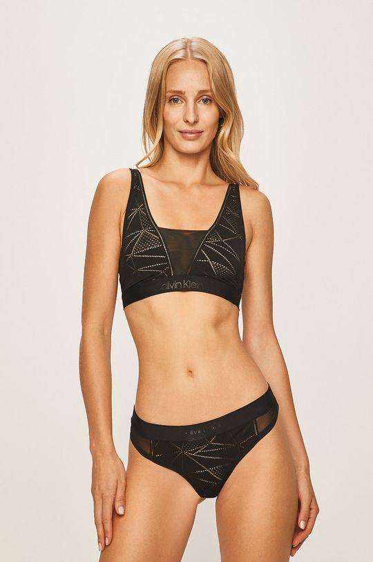 Calvin Klein Underwear - Podprsenka Jiné materiály: 43% Elastan, 57% Nylon Materiál č. 1: 34% Elastan, 66% Nylon Materiál č. 2: 21% Elastan, 79% Nylon Materiál č. 3: 20% Elastan, 80% Nylon Ozdobné prvky: 28% Elastan, 72% Nylon Provedení: 31% Elastan, 69% Nylon
