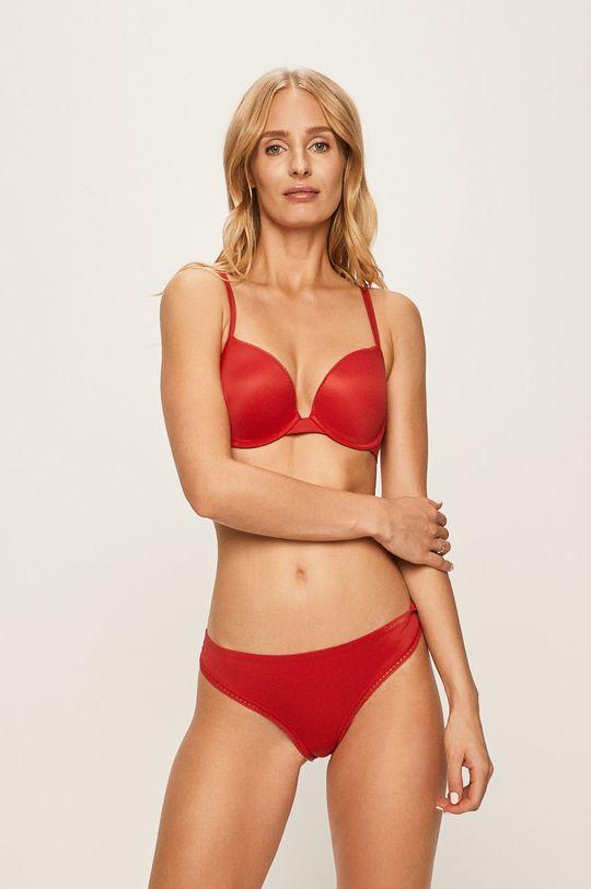 Calvin Klein Underwear - Biustonosz Podszewka: 7 % Elastan, 93 % Poliester, Materiał zasadniczy: 38 % Elastan, 62 % Nylon, Inne materiały: 13 % Elastan, 87 % Nylon