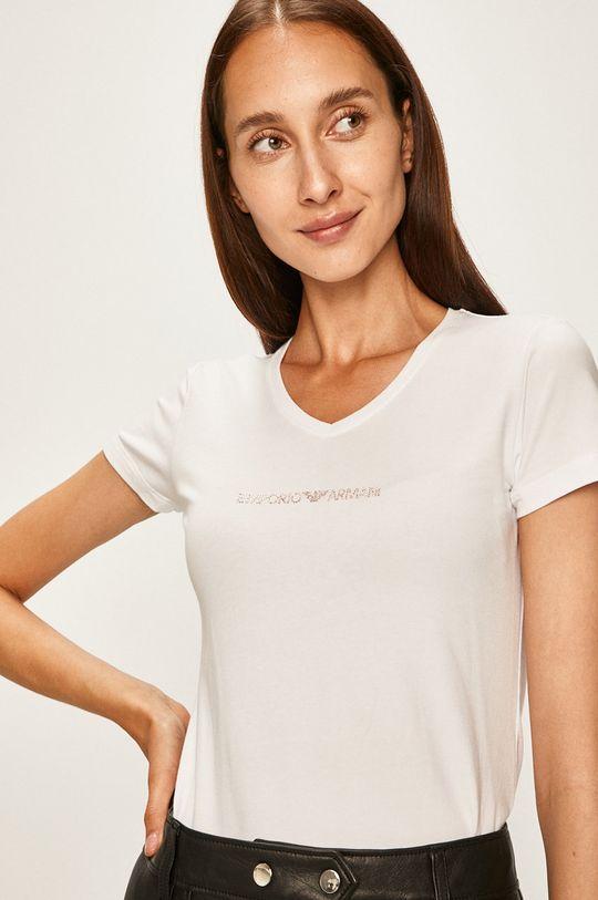 biela Emporio Armani - Pyžamové tričko Dámsky
