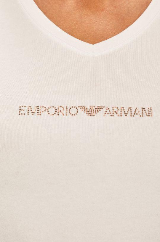 biela Emporio Armani - Pyžamové tričko