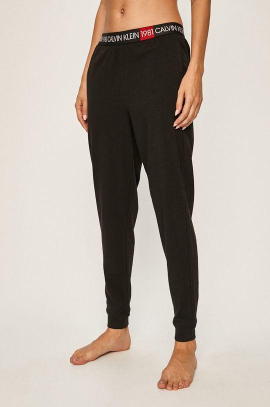 černá Calvin Klein Underwear - Pyžamové legíny Dámský