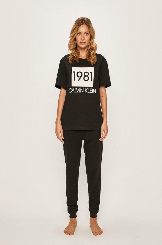 Calvin Klein Underwear - Pyžamové legíny černá