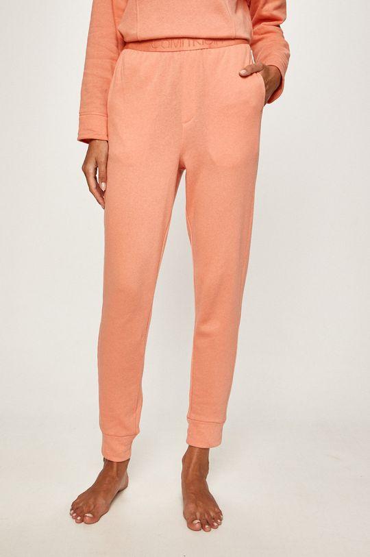 broskvová Calvin Klein Underwear - Pyžamové kalhoty Dámský