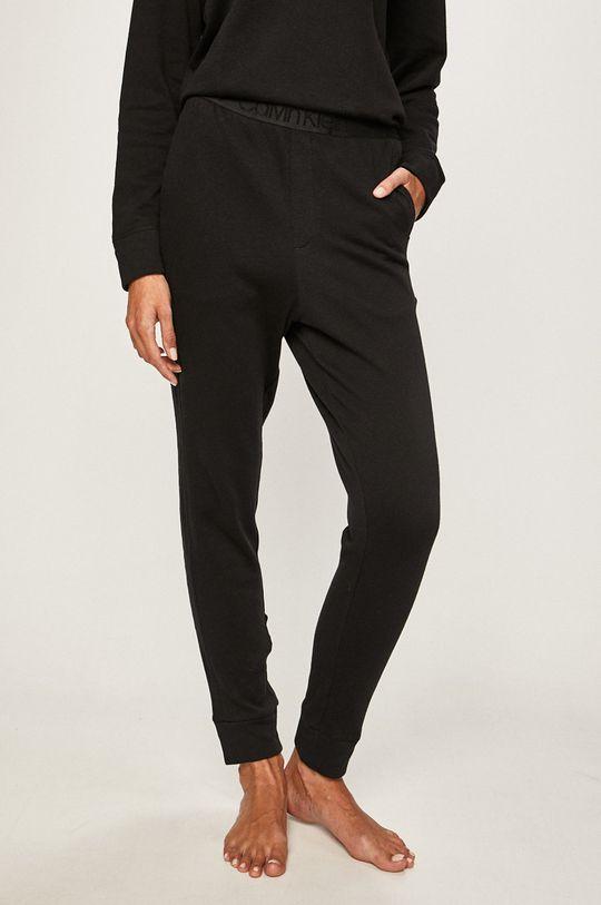 černá Calvin Klein Underwear - Pyžamové kalhoty Dámský