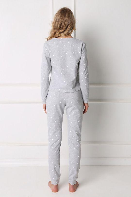 Aruelle - Piżama Hearty jasny szary