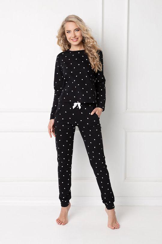 černá Aruelle - Pyžamo Hearty Dámský