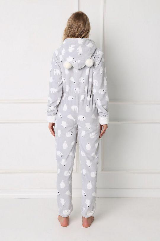 Aruelle - Pyžamový overal Polar Bear světle šedá