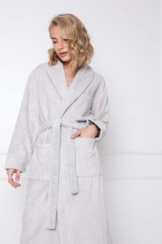 Aruelle - Szlafrok Kate Grey jasny szary