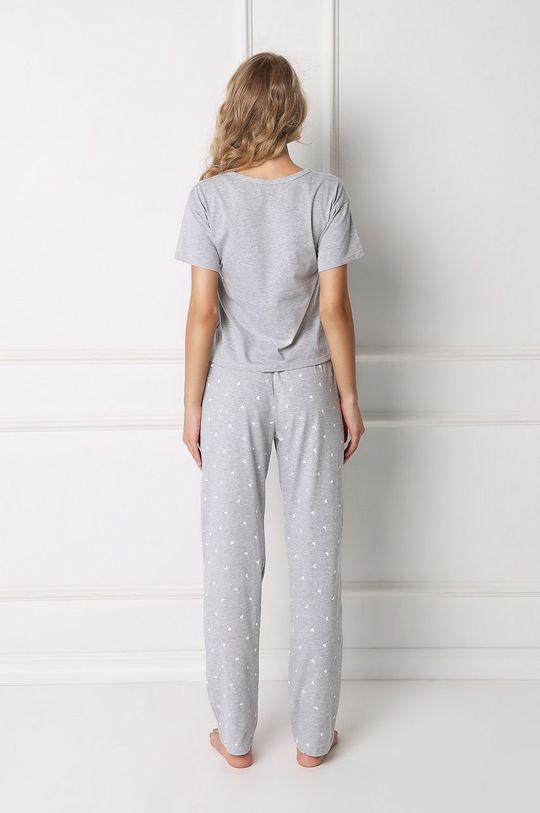 Aruelle - Pyžamo světle šedá