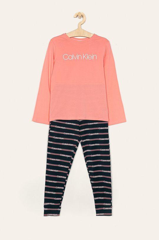 pastelová ružová Calvin Klein Underwear - Detské pyžamo 18-176 cm Dievčenský