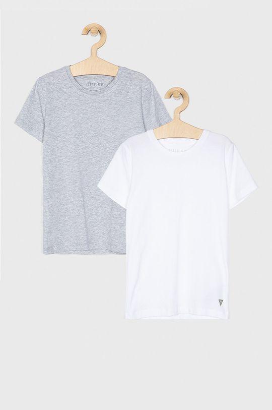 světle šedá Guess Jeans - Dětské tričko 125 - 166 cm (2 pack) Dětský