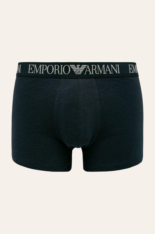 Emporio Armani - Boxerky (2 pack) tmavomodrá