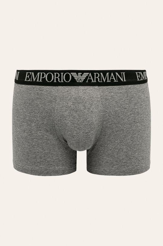 Emporio Armani - Boxerky (2 pack) sivá