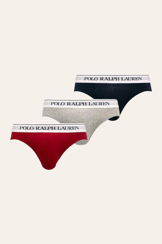 viacfarebná Polo Ralph Lauren - Slipy (3 pak) Pánsky