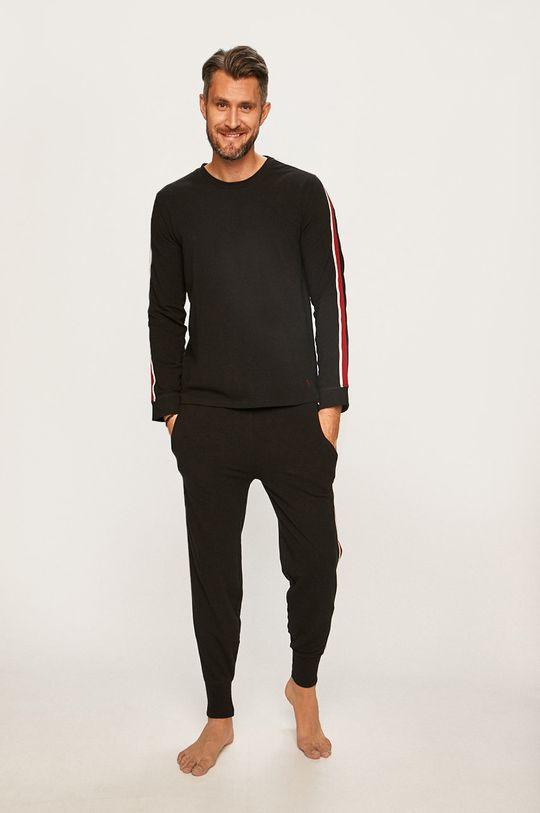 Polo Ralph Lauren - Pyžamová mikina černá