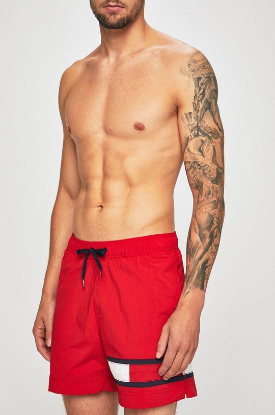 czerwony Tommy Hilfiger - Szorty kąpielowe Męski