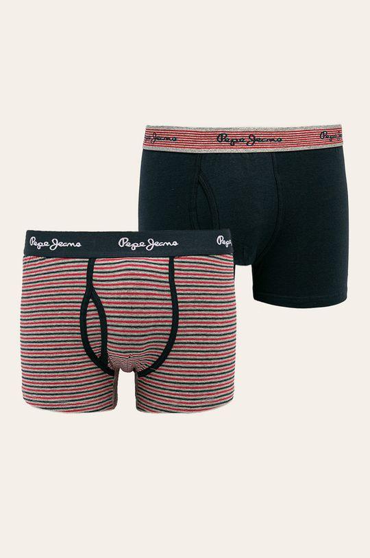 tmavomodrá Pepe Jeans - Boxerky Tanton (2 pak) Pánsky