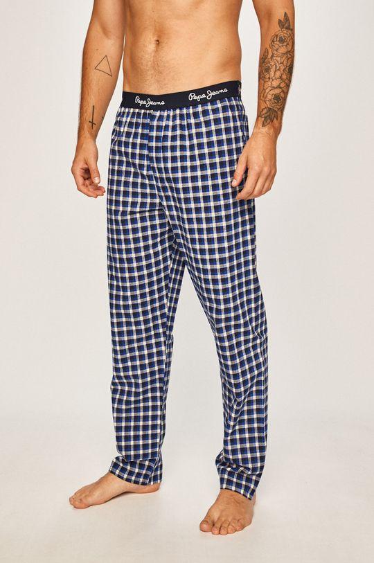 tmavomodrá Pepe Jeans - Pyžamové nohavice Kyle Pánsky