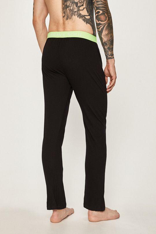 Brave Soul - Pyžamové nohavice čierna