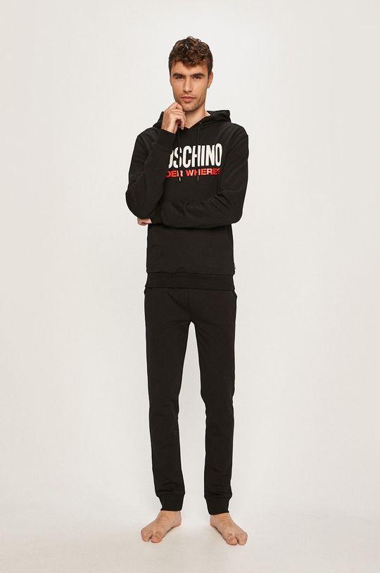 Moschino Underwear - Pantaloni de pijama negru