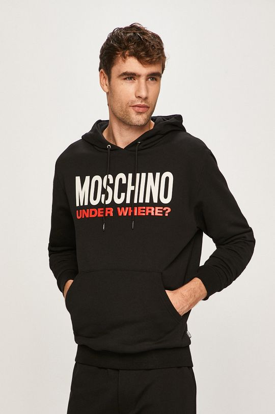 negru Moschino Underwear - Bluza pijama De bărbați