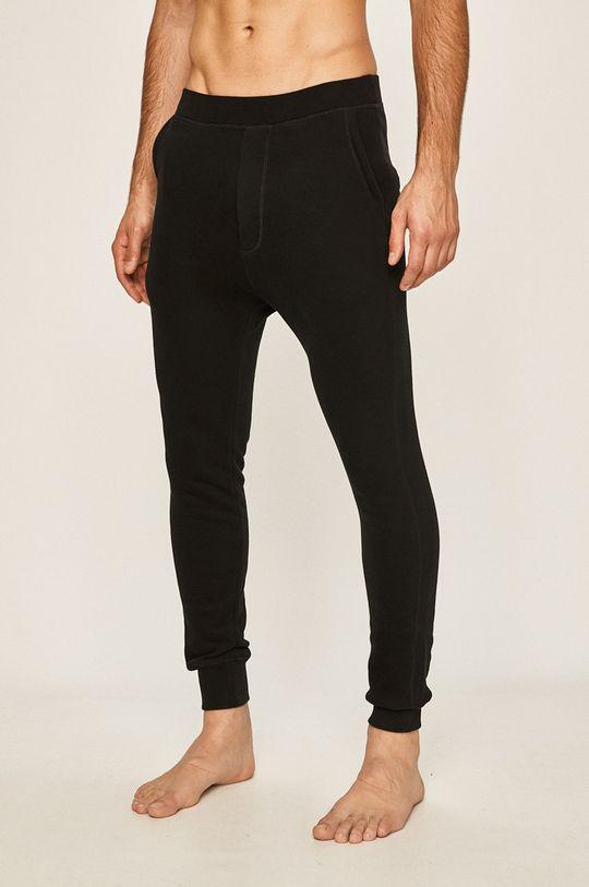 negru DSQUARED2 - Pantaloni de pijama De bărbați