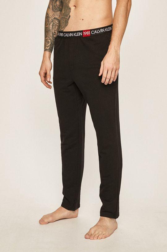 černá Calvin Klein Underwear - Pyžamové kalhoty Pánský