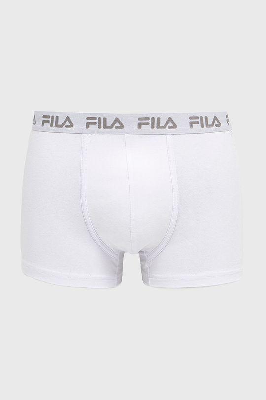 biały Fila - Bokserki (2-pack) Męski