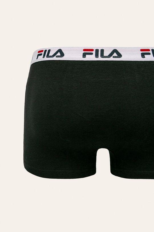 Fila - Bokserki (2-pack) czarny
