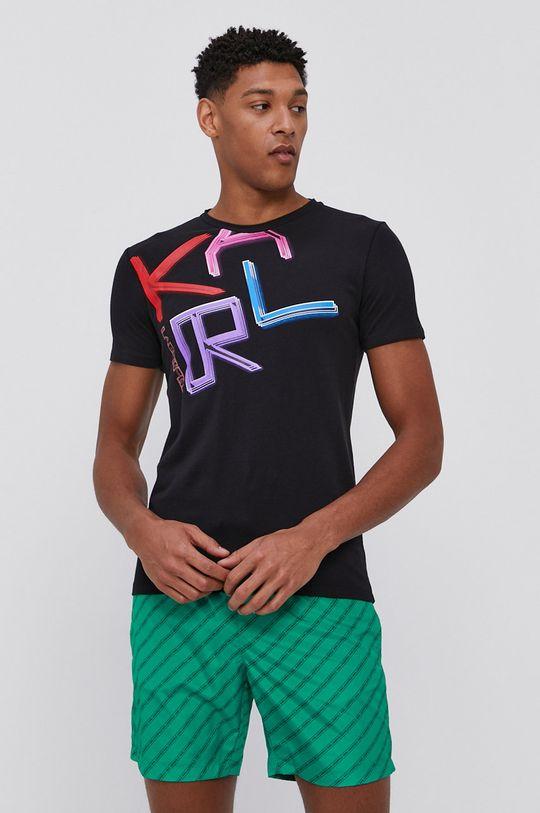 Karl Lagerfeld - Plavkové šortky zelená