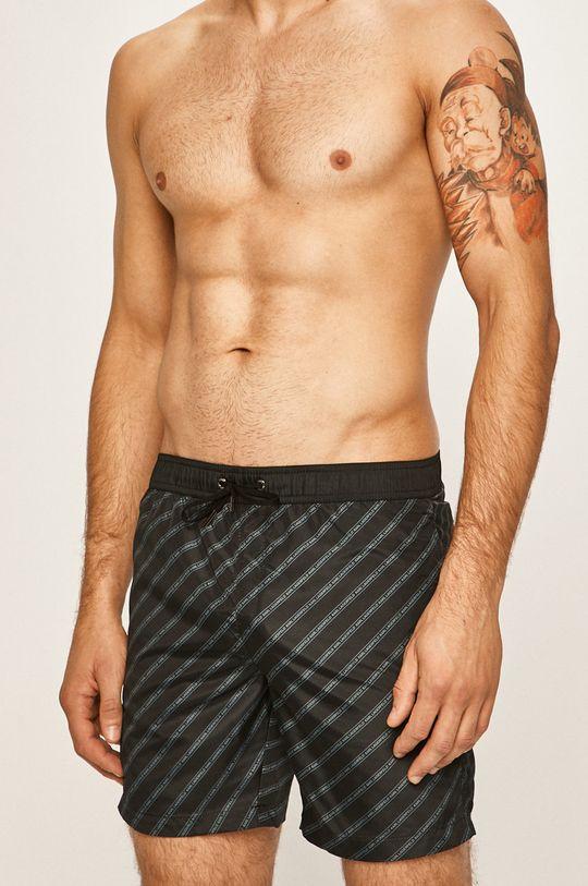 Karl Lagerfeld - Szorty kąpielowe czarny