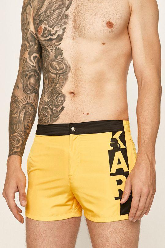 galben Karl Lagerfeld - Pantaloni scurti de baie De bărbați