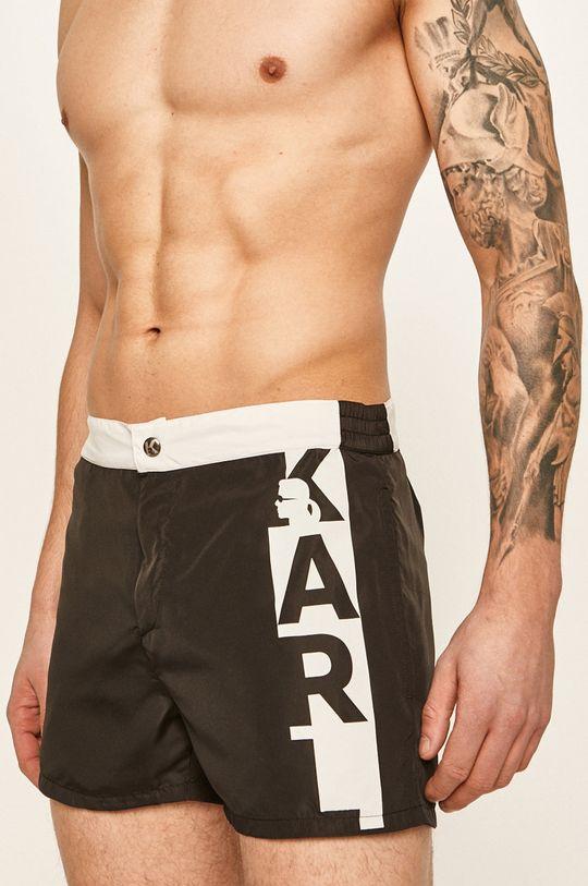 Karl Lagerfeld - Pantaloni scurti de baie negru